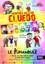 C'est pas Broadway : Meurtres au Club Cluedo
