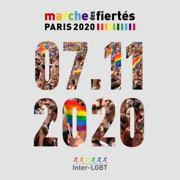 Marche des fiertés Paris le 07/11/2020