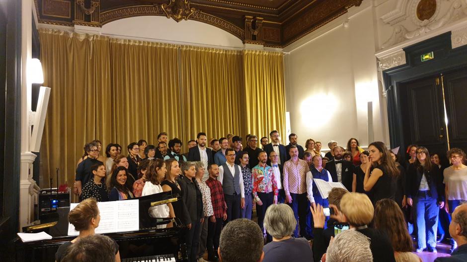 Concert à l'occasion de la journée mondiale de lutte contre le SIDA