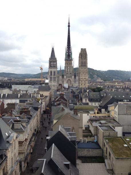 Voyage à Rouen