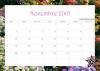 Préparation du calendrier des activités de novembre